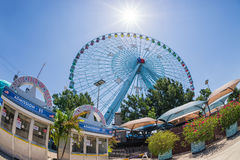 Roue de ferris de Texas Star Photo libre de droits