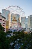 Roue de ferris de Yokohama Photos stock