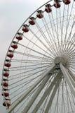 Roue de Ferris - verticale Image stock