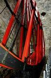 Roue de Laxey, île de Man Images libres de droits