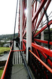Roue de Laxey, île de Man Photo libre de droits