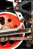 Roue de locomotive à vapeur photographie stock