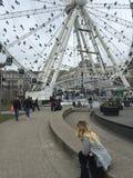 Roue de Manchester Photos libres de droits