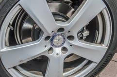 Roue de Mercedes-Benz images stock