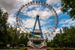 Roue de Moscou Ferris Images stock
