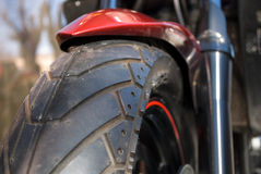 Roue de moto Image libre de droits