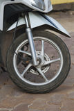 Roue de moto Photo stock