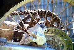 Roue de motocyclette photo libre de droits