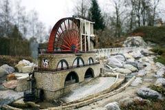 Roue de moulin Image libre de droits