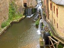 Roue de moulin Photo libre de droits