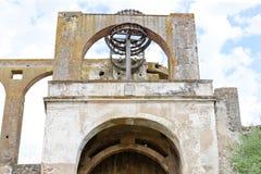 Roue de moulin arabe et x28 ; nora& x29 ; , Serpa, l'Alentejo, Portugal photo libre de droits