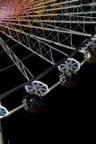 roue de nuit de ferris image libre de droits