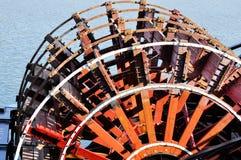 Roue de palette rouge Photos stock