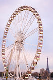Roue de Paris Photo libre de droits