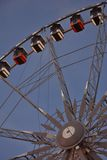 Roue de paris (ferry wheel) in Ghent, Christmas Royalty Free Stock Photo