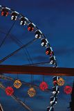 Roue de paris (ferry wheel) in Ghent, Christmas Royalty Free Stock Photography