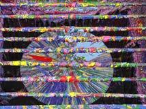 Roue de rotation de couleur Photos stock