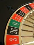 Roue de roulette Photo libre de droits