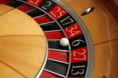 Roue de roulette Photos libres de droits