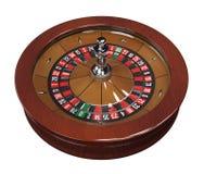 Roue de roulette avec le double zéro Images libres de droits