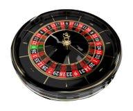 Roue de roulette de casino 3D Images stock