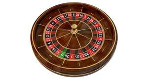 Roue de roulette de casino 3D Photo libre de droits