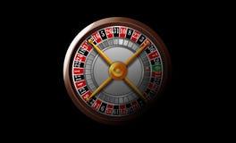 Roue de roulette de casino Photographie stock