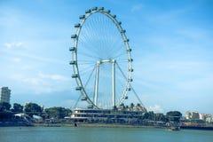 Roue de Singapour Photographie stock libre de droits