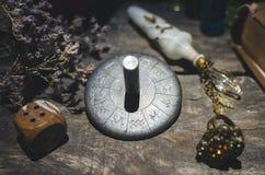 Roue de zodiaque photo stock