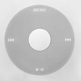 Roue du joueur MP3 images stock
