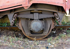 Roue du train Photo stock