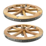 Roue en bois Photo stock