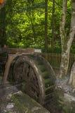 Roue historique de moulin à eau Image libre de droits