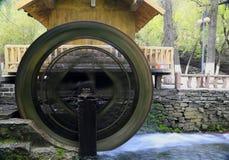 Roue hydraulique Image libre de droits