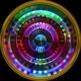 Roue hypnotique Photographie stock libre de droits