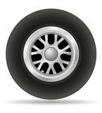 Roue pour l'illustration ENV 10 de vecteur de voiture de course Photos libres de droits