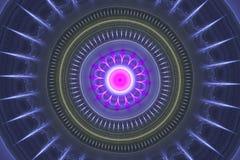 Roue rose illustration de vecteur
