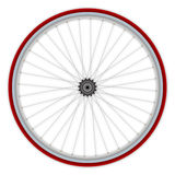 roue simple de vitesse de bicyclette Photos libres de droits