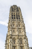 Rouen - Belfry of the cathedral Stock Images