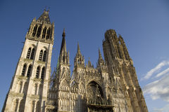Rouen cathedral Royalty Free Stock Image