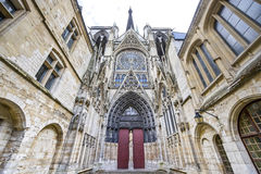 Rouen - Cathedral exterior Royalty Free Stock Image