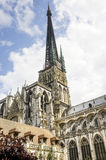 Rouen - Cathedral exterior Royalty Free Stock Photography