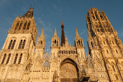 Rouen cathedral Stock Images