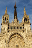 Rouen Cathedral Notre-Dame Royalty Free Stock Image