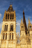 Rouen Cathedral Notre-Dame Royalty Free Stock Photos