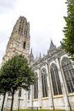 Rouen - domkyrkayttersida Fotografering för Bildbyråer