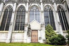 Rouen - domkyrkayttersida Arkivbild