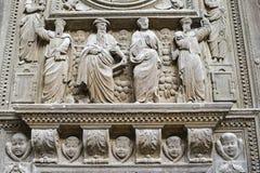 Rouen - Door of Saint-Maclou church Stock Photography