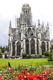 Rouen - Exterior of Saint-Ouen church Stock Photography