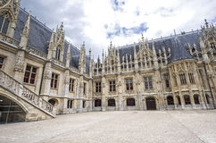 Rouen - Historic Palace Stock Photo